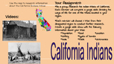 California Indians assignment hyperdoc