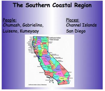 California Indians the Southern Coastal Region