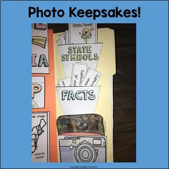 California Lapbook for Early Learners - A State Study