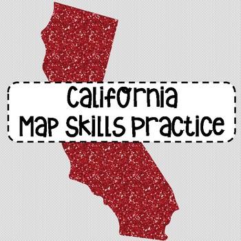 California Map Skills Practice