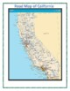 California Maps, Flag, Data, and Geography Assessment