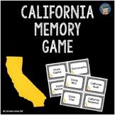 California Memory Game