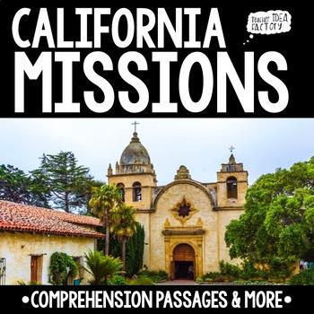 California Mission Comprehension Passages