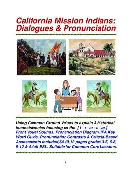 California Mission Indians: Dialogue & Pronunciation
