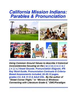California Mission Indians:Parables & Pronunciation