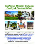 California Mission Indians: Poetry & Pronunciation