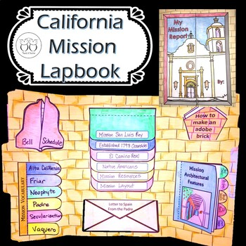 California Mission Lapbook