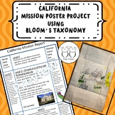 California Missions Poster Project
