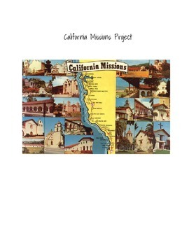 California Mission Project Guidelines