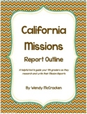 California Mission Report - Guide for Researching and Writing
