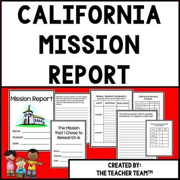California Mission Research Report