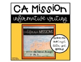 California Missions Writing
