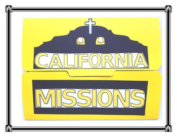 California Mission Writing Project and Lapbook