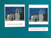California Missions 3-Part Cards