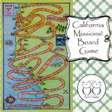 California Missions Board Game