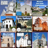 California Missions Informational Texts & Activities Bundl