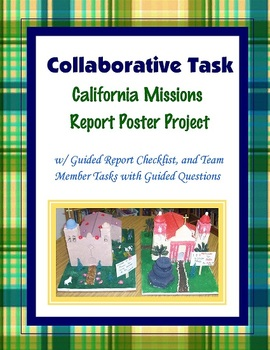 California Missions Group Research Project {Team Task}