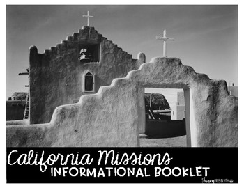 California Missions Mini-Book: Informational Writing