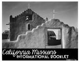 California Missions Mini-Book: Informational Writing