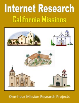 California Missions (One-hour Internet Research Projects)