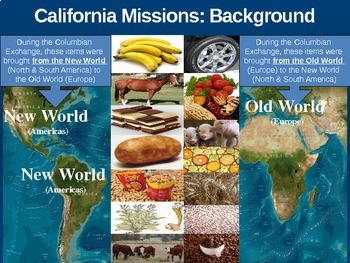 California Missions! (PART 1: BACKGROUND) - visual, textual, engaging