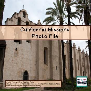 California Missions Photo File
