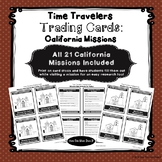 California Missions - Research Trading Cards - All 21 Miss