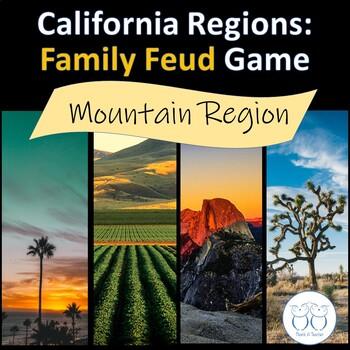 California Mountain Region Family Feud Game