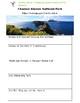 California National Parks Webquest