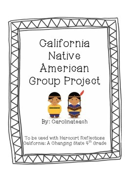 California Native American Group Project