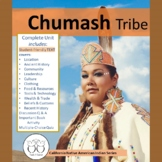 Chumash Tribe California Native Americans Text & Activities Distance Learning