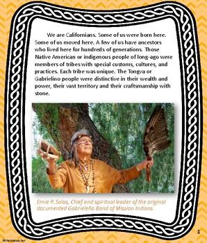 California Native American Indian Series: Gabrielino / Tongva Tribe