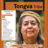 Tongva  Gabrielino Tribe CA Native Americans Text Activities Distance Learning