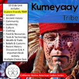 Kumeyaay California Native American Indians Informational Text Distance Learning
