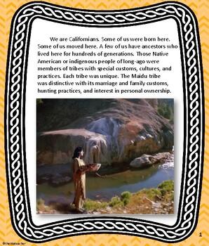 Maidu Tribe  California Native American Indian Series