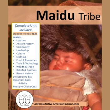 California Native American Indian Series: Maidu Tribe