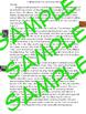 California Native American Indians Easy Block Writing