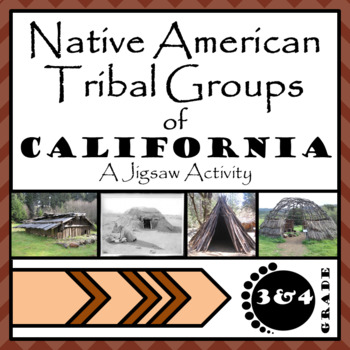 California Native American Jigsaw Passages
