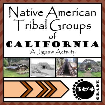 California Native Americans Jigsaw