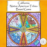 California Native Americans Board Game