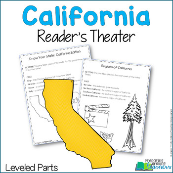 California Readers Theaters {Leveled}