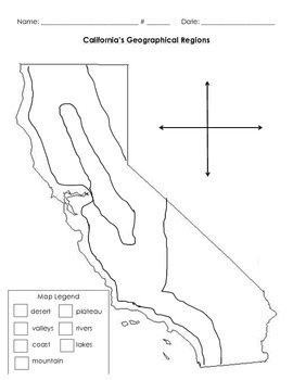 Intrepid image throughout california regions map printable