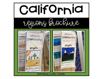 California Regions Brochure