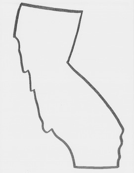 California Regions Cut-Out Book