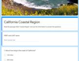 California Regions Google Quizzes