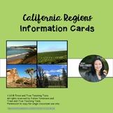California Regions Info Cards