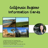 California Regions Info Cards