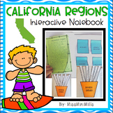 California Regions Interactive Notebook