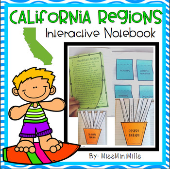California Regions Interactive Notebook