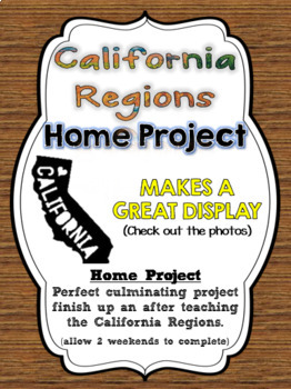 California Regions Map Home Project (PDF File)